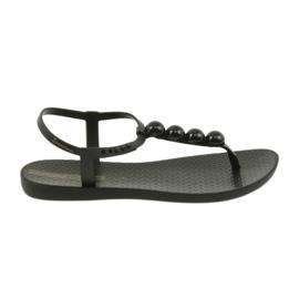 Sandali Ipanema scarpe da donna infradito con palline 82517 nero