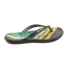 Pantofole per bambini Rider 82563 nero