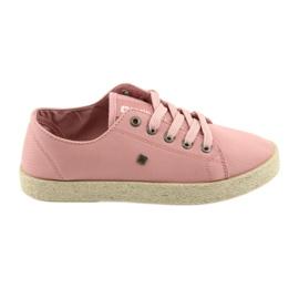 Ballerine espadrillas scarpe da donna rosa Big star 274425