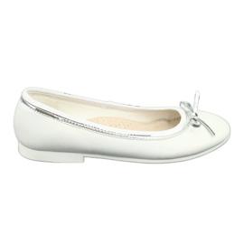 Ballerine con fiocco, white pearl American Club GC29 / 19