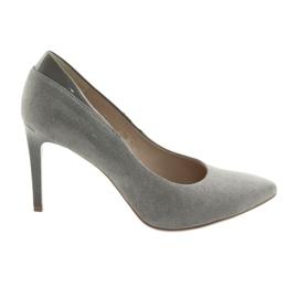 Décolleté con un tacco a spillo scarpe da donna ANIS grigie grigio