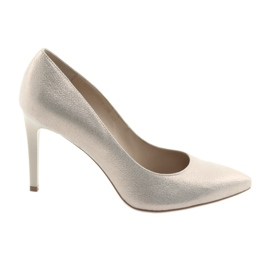 Scarpe da donna in pelle scarpe Anis 4527 giallo