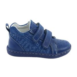 Scarpe mediche per bambini con velcro Ren But 1429 blu