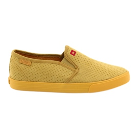 Sneakers slip-in da donna Big Star 274889 giallo