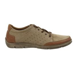 Scarpe da uomo Badura 3524 beige / marrone