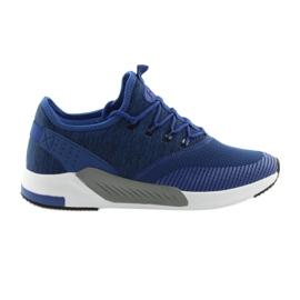 Scarpe sportive da uomo DK 18470 blu