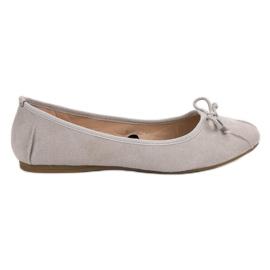 Lucky Shoes grigio Ballerine annodate grigie