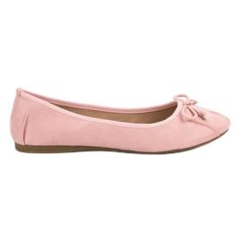Lucky Shoes Ballerina annodata rosa