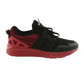 Scarpe sportive da uomo DK 18332 nero / rosso