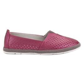 Porpora Sneakers in pelle Slip On VINCEZA
