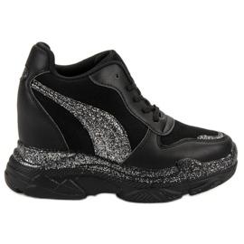 Sneakers nere con broccato VICES nero
