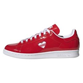 Scarpe Adidas Originals Stan Smith in G28136 rosso