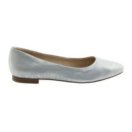 Ballerine pumps Caprice 22104 argento blu