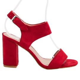 Rosso Sandali VINCEZA rossi