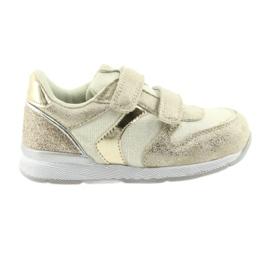 Sneakers beige American Club ES25 oro
