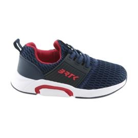 Bartek 55110 Slip-on blu scuro scarpe sportive