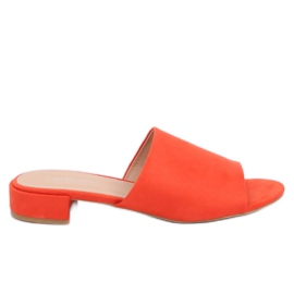 Pantofole arancio da donna XW9093 Arancione