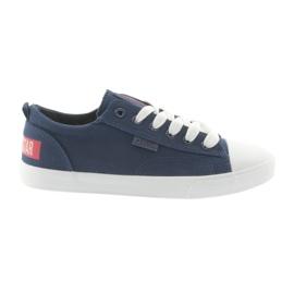Big Star marina Sneakers a stelle grandi blu navy 274876