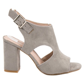 Vinceza grigio Sandceza sandali incassati