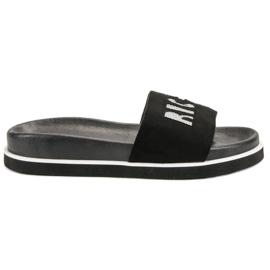 Vinceza Pantofole nere nero
