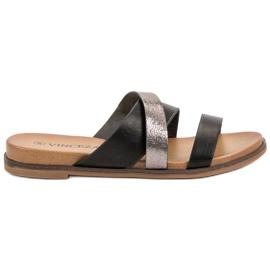 Vinceza Pantofole classiche nero