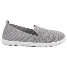 Super Mode Signori tessili grigio