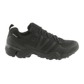 Nero Atletico 8008 scarpe sportive nere