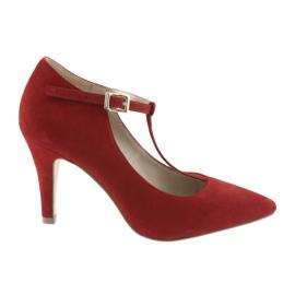 Scarpe da donna rosse Caprice 24400 rosso