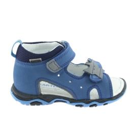 Le rape dei ragazzi Sandals Bartek 51489 blu