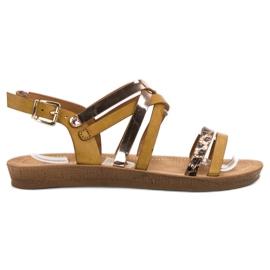 Seastar Sandali alla moda in cammello marrone