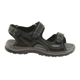 Sandalo velcro leggero EVA DK nero