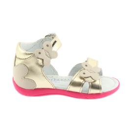 Sandali da ragazza - farfalla Bartek 51569 zloty