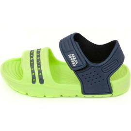 Sandali Aqua-speed Noli verde navy blu col .84
