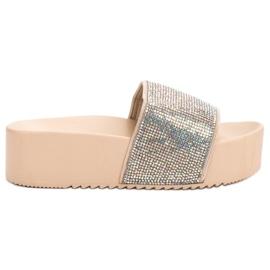 Marquiz Pantofole alla moda sulla piattaforma
