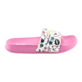 Pantofole Occhiali da sole profilati American Club rosa