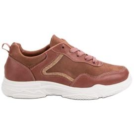 SHELOVET Sneakers alla moda rosa