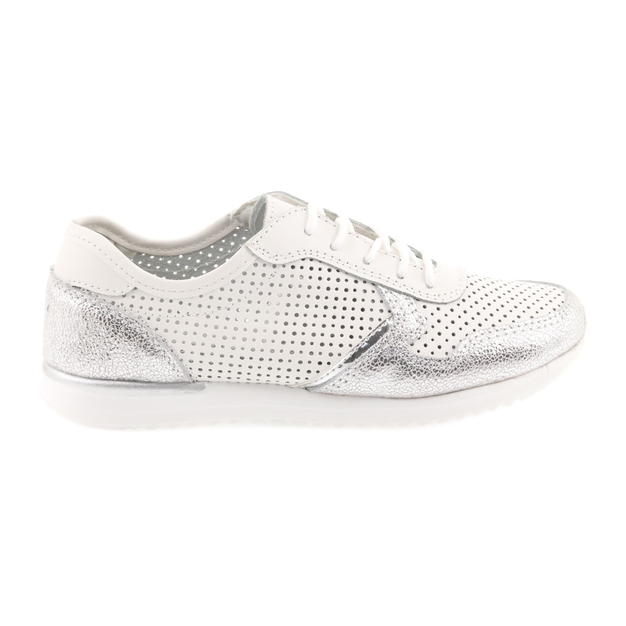 premium selection 1a08d d8319 Filippo 737 scarpe sportive da donna bianche e argento