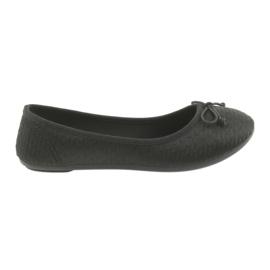 McKey sneakers ballerine slip-in nere nero