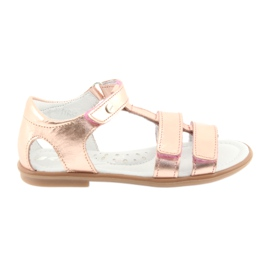 Sandali da ragazza, oro rosa, Bartek 56016