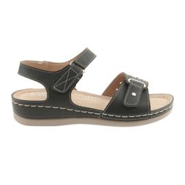 Sandali per donna comfort DK 25131 nero