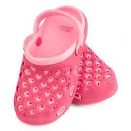 Pantofole AQUA-SPEED Itaka Jr 03 496 rosa
