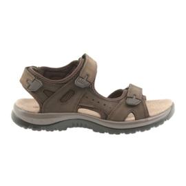 Sandali DK Brown Velcro leggero EVA marrone