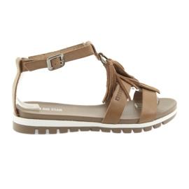 Marrone Big Star boho shoes 274958