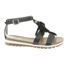 Sandali Big Star Boho 274958 neri nero
