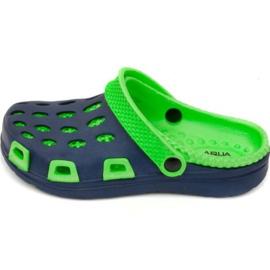 Aqua-Speed Pantofole ad acqua velocità Silvi Jr col 48 verde blu navy