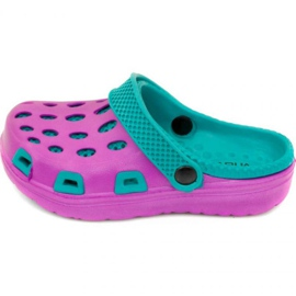 Pantofole Aqua-speed Silvi Jr col 09 viola blu