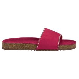 Goodin Flip in pelle scamosciata rosa