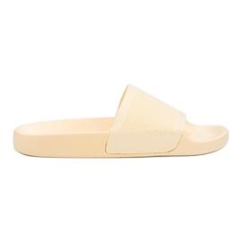VICES pantofole gialle giallo