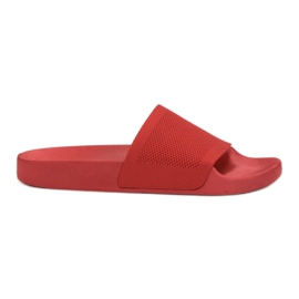 Pantofole rosse VICES rosso