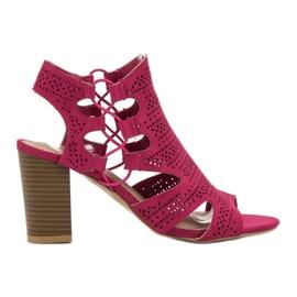 Goodin rosa Sandali alla moda fucsia